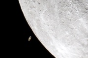 Saturn Occultation 4/8/2014, by Murray Wilkinson (cropped)